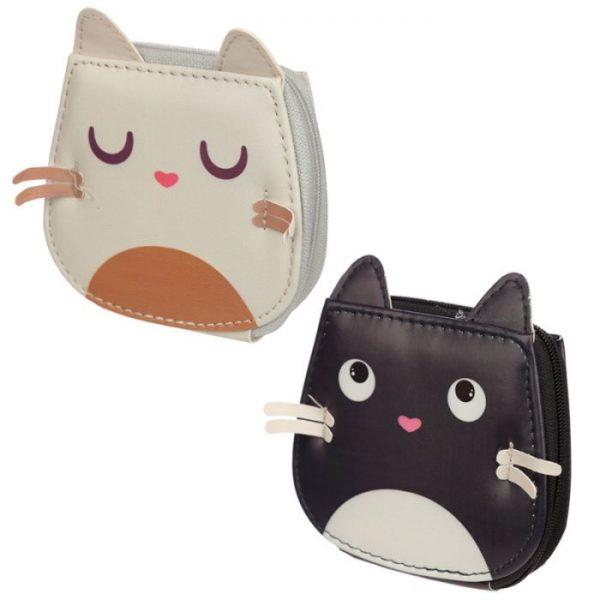 Mini pětidílný manikúrový set v pouzdře s motivem kočičky Feline Fine 1 - pro milovníky koček