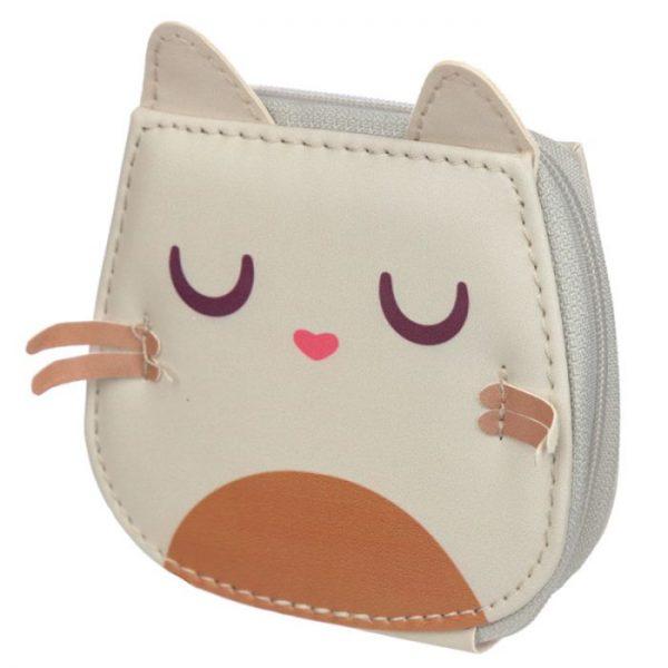 Mini pětidílný manikúrový set v pouzdře s motivem kočičky Feline Fine 6 - pro milovníky koček
