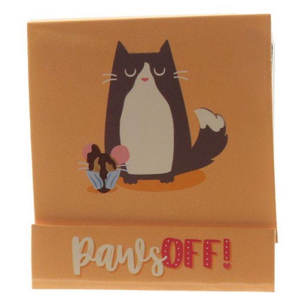Feline Fine Cat Pilník na nehty Matchbook - růžový 3 - pro milovníky koček