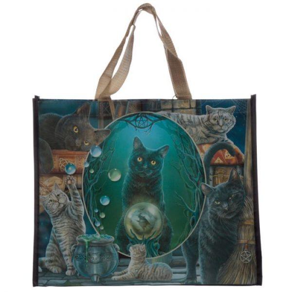 Lisa Parker Magic Cat Montage Nákupní taška 1 - pro milovníky koček