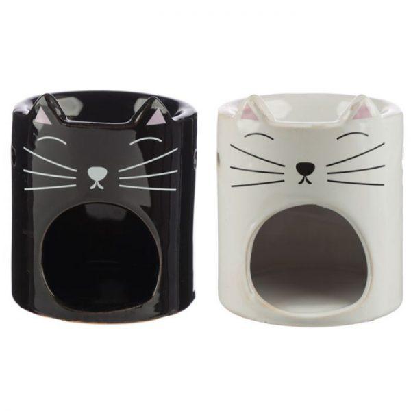 Feline Fine Ceramic Cat Head Olejová lampa 1 - pro milovníky koček