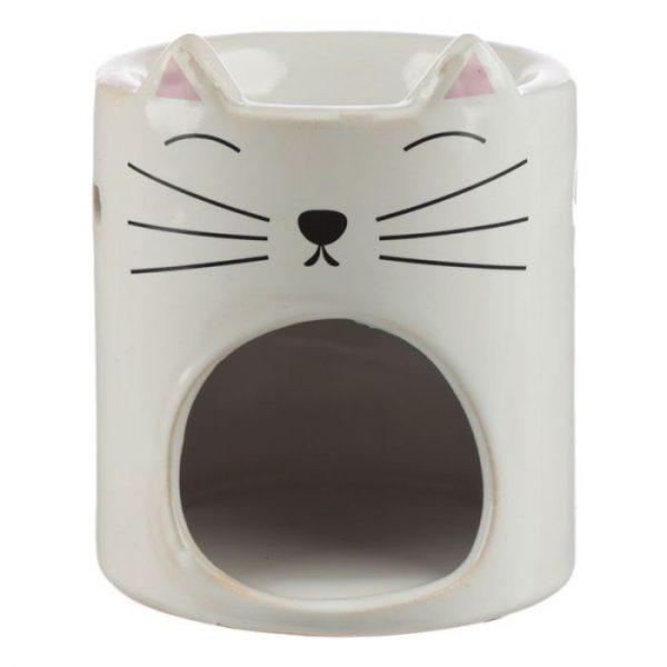 Feline Fine Ceramic Cat Head Olejová lampa 4 - pro milovníky koček