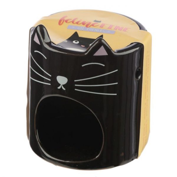 Feline Fine Ceramic Cat Head Olejová lampa 2 - pro milovníky koček