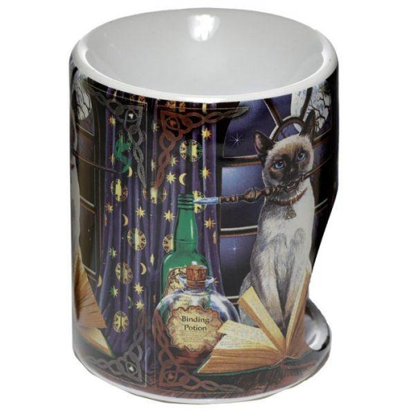 Lisa Parker Keramická aromalampa s motivem kočičky Hocus Pocus 3 - pro milovníky koček