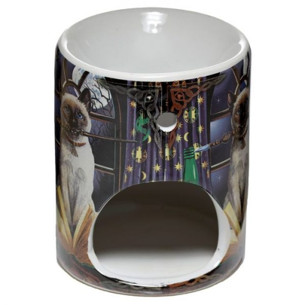 Lisa Parker Keramická aromalampa s motivem kočičky Hocus Pocus 4 - pro milovníky koček