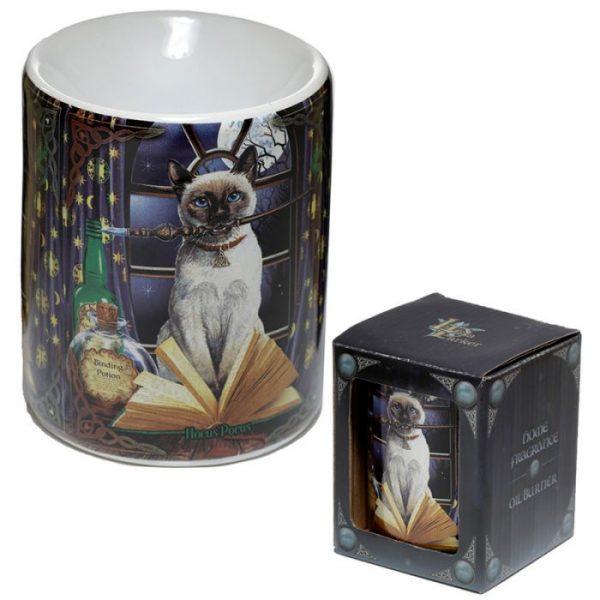 Lisa Parker Keramická aromalampa s motivem kočičky Hocus Pocus 2 - pro milovníky koček