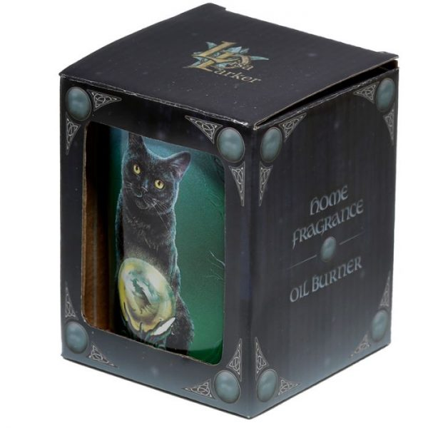 Keramická aromalampa Magická kočka - design Lisa Parker 5 - pro milovníky koček