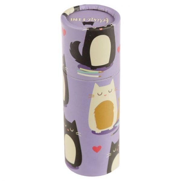 Kočka Feline Fine pastelky v pouzdru 3 - pro milovníky koček