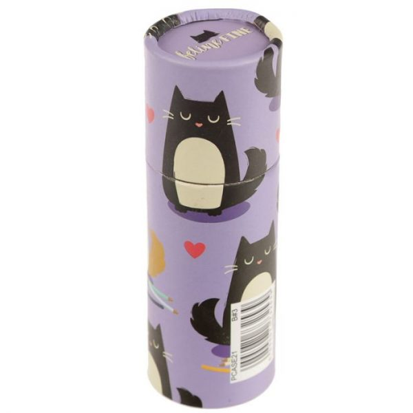 Kočka Feline Fine pastelky v pouzdru 7 - pro milovníky koček