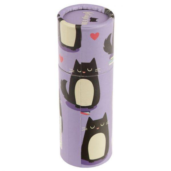 Kočka Feline Fine pastelky v pouzdru 6 - pro milovníky koček
