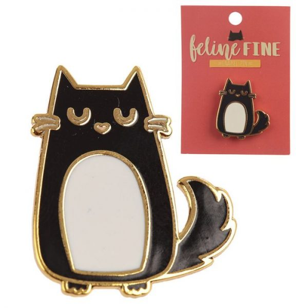 Zběratelská Kočka Feline Fine Brož 1 - pro milovníky koček