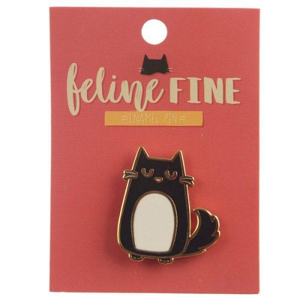 Zběratelská Kočka Feline Fine Brož 3 - pro milovníky koček