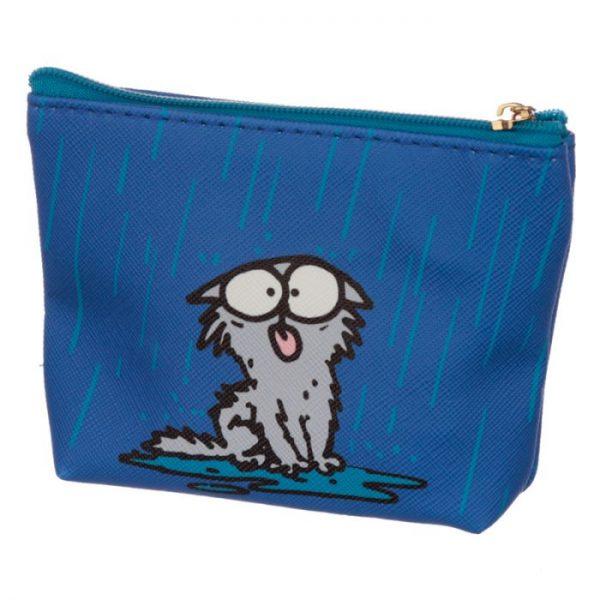 Peňaženka na mince Simon's cat rúžová 4 - pro milovníky koček