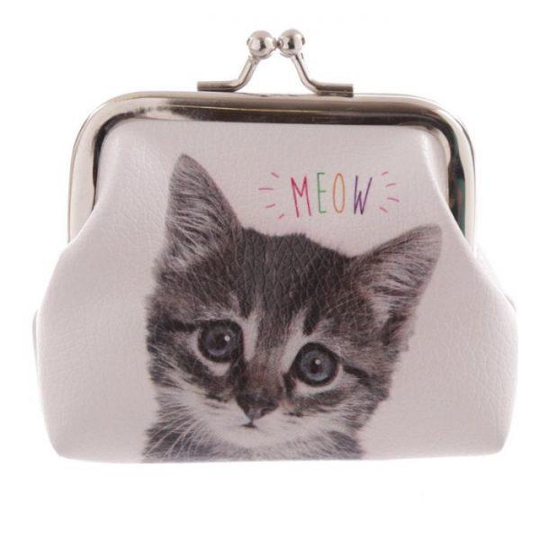 Kočka a pes MEOW WOOF Tic Tac Peněženka 4 - pro milovníky koček