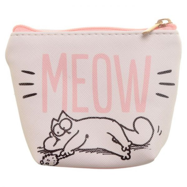 Simon's Cat Slogan PVC Peněženka 6 - pro milovníky koček