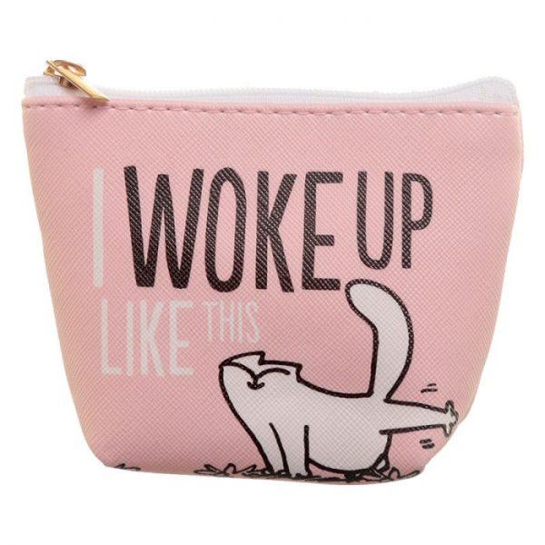 Simon's Cat Slogan PVC Peněženka 3 - pro milovníky koček
