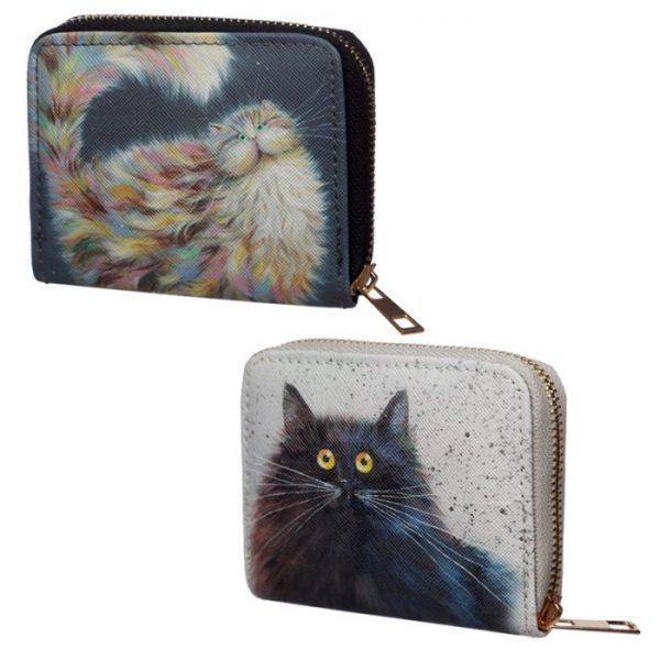Kim Haskins Cat Malá peněženka Peněženka 1 - pro milovníky koček