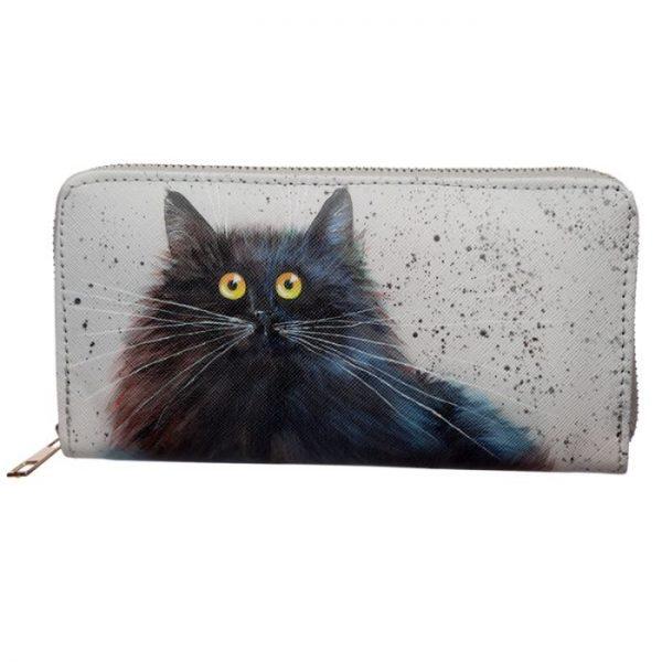Kim Haskins Cat Peněženka na zips 3 - pro milovníky koček