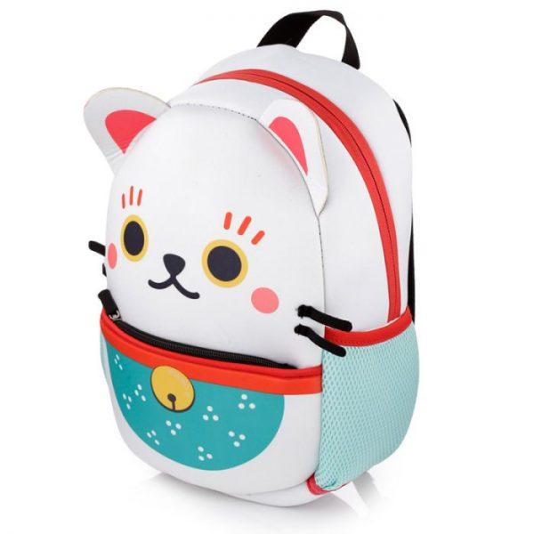 Maneki Neko - kočka štěstí neoprénový batoh 1 - pro milovníky koček