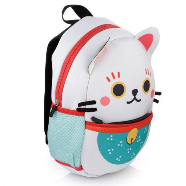 Maneki Neko - kočka štěstí neoprénový batoh 3 - pro milovníky koček