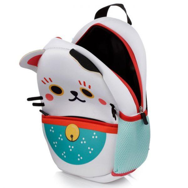 Maneki Neko - kočka štěstí neoprénový batoh 5 - pro milovníky koček