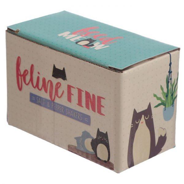 Solnička a pepřenka s kočkou Feline Fine 3 - pro milovníky koček