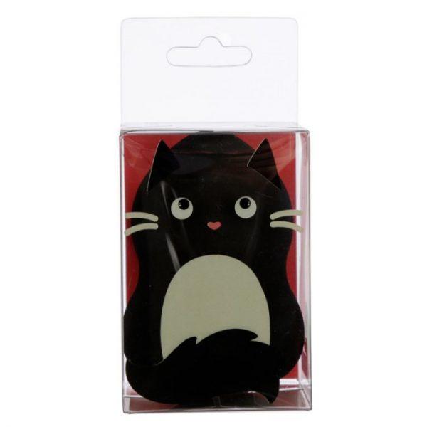 Tvarovaná houbička na make-up s kočičkou Feline Fine černá (beautyblender) 1 - pro milovníky koček