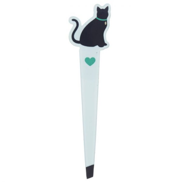 I Love My Cat Silhouette Pinzeta 4 - pro milovníky koček
