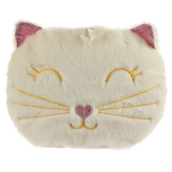 Kočka Feline Fine 400ml Láhev na horkou vodu v polštáři 1 - pro milovníky koček
