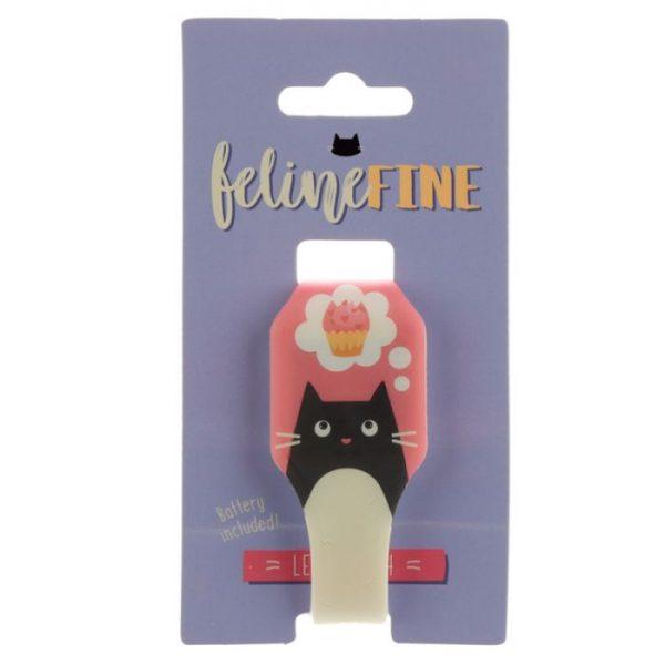 Žluté dětské silikonové digitální hodinky s motivem kočičky Feline Fine 2 - pro milovníky koček