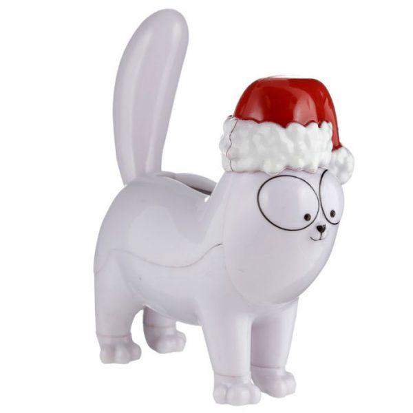 Vánoční solární dekorace ve tvaru kočičky Simon 's cat 3 - pro milovníky koček
