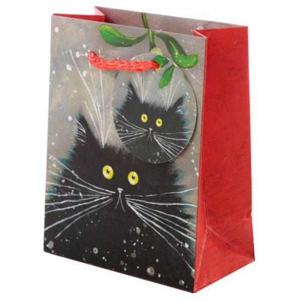 Malá dárková taška s motivem kočičky Kim Haskins 1 - pro milovníky koček