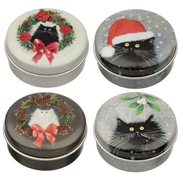 Kim Haskins Vánoční balzám na rty 1 - pro milovníky koček