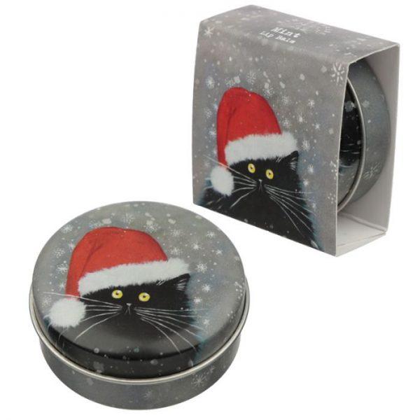 Kim Haskins Vánoční balzám na rty 4 - pro milovníky koček