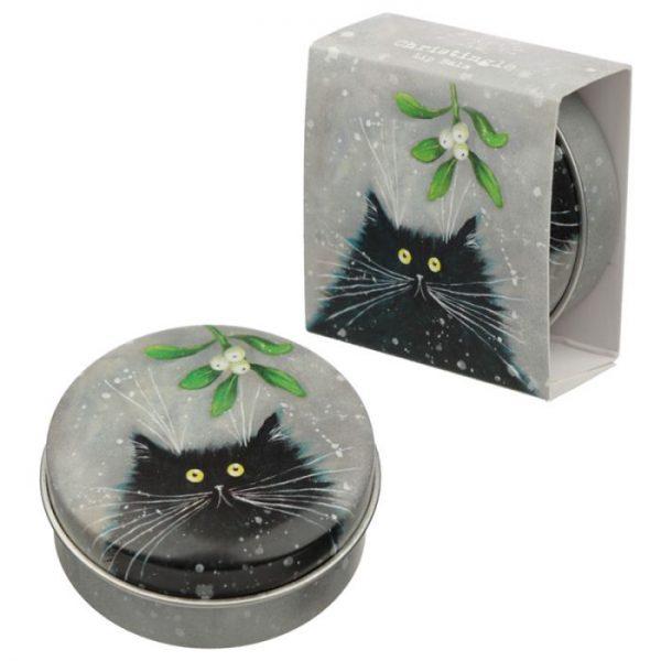 Kim Haskins Vánoční balzám na rty 2 - pro milovníky koček