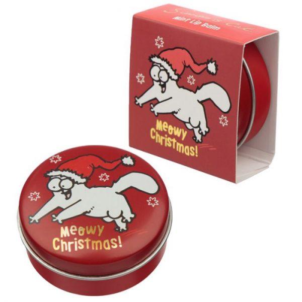 Simon's Cat Vánoční kočka - balzám na rty 7 - pro milovníky koček