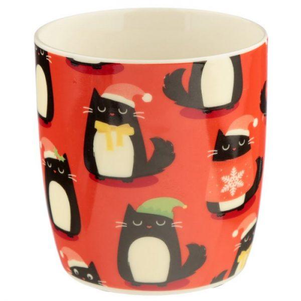 Feline Festive Cat Porcelánový hrníček 5 - pro milovníky koček