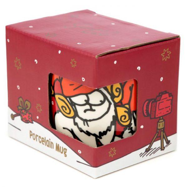 Porcelánový hrnek Simon 's Cat s vánočním motivem 4 - pro milovníky koček