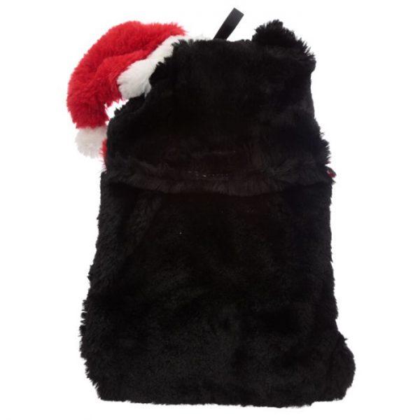 Feline Festive Vánoční Kočka 1L plyšová láhev na horkou vodu - termopolštářek 3 - pro milovníky koček
