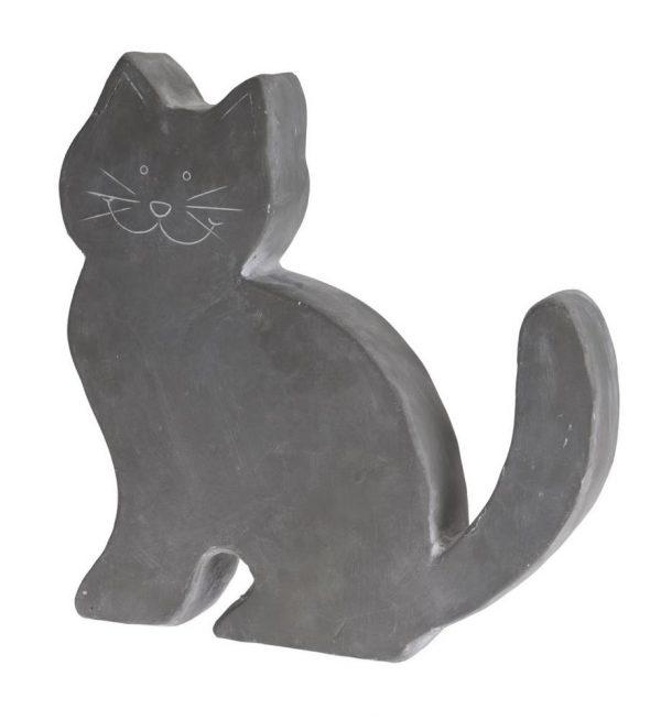 Zahradní dekorace - postava kočky, cement 38 x 7,5 x 39,5 cm 1 - pro milovníky koček
