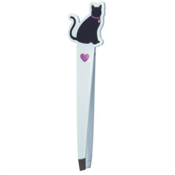 I Love My Cat Silhouette Tweezers - Purple 1 - pro milovníky koček