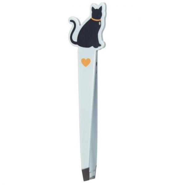 I Love My Cat Silhouette Tweezers - Yellow 1 - pro milovníky koček