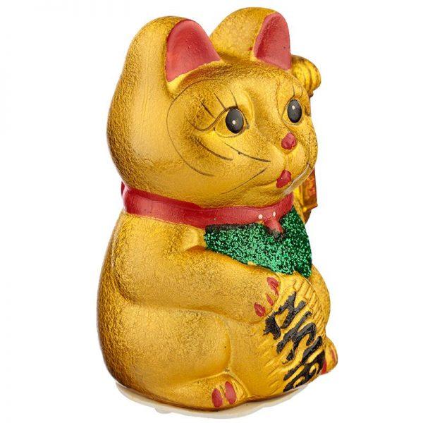 Maneki Neko Velká mávající kočka pro štěstí 2 - pro milovníky koček
