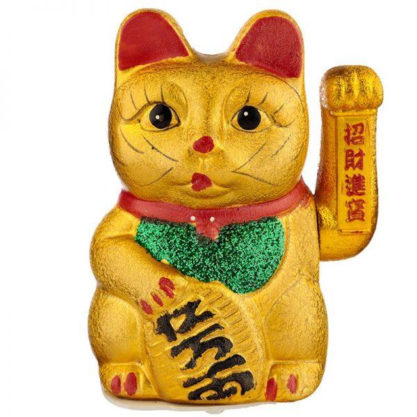 Maneki Neko Velká mávající kočka pro štěstí 1 - pro milovníky koček