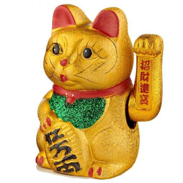 Maneki Neko Velká mávající kočka pro štěstí 3 - pro milovníky koček