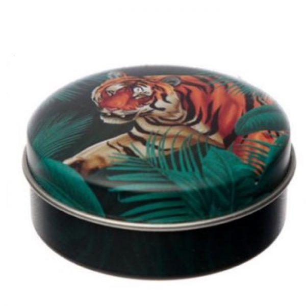 Spots & amp; Stripes Big Cat Animal Print Balzám na rty v plechovce - pomeranč 1 - pro milovníky koček